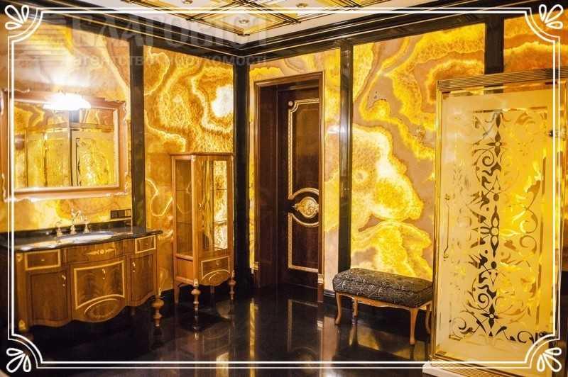 Золотые апартаменты — 2,219 млн долларов Трехкомнатную квартиру площадью 221 квадратный метр с гипсо