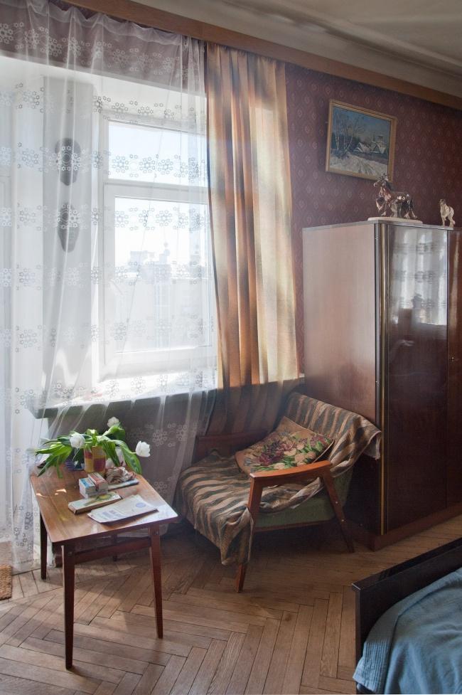 Законсервированные квартиры по-советски (22 фото)