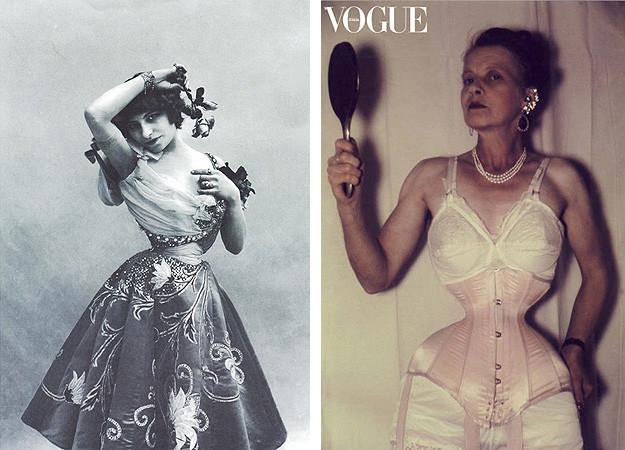 Элементы гардероба и косметика из прошлого, которые могли убить своих владельцев (15 фото)