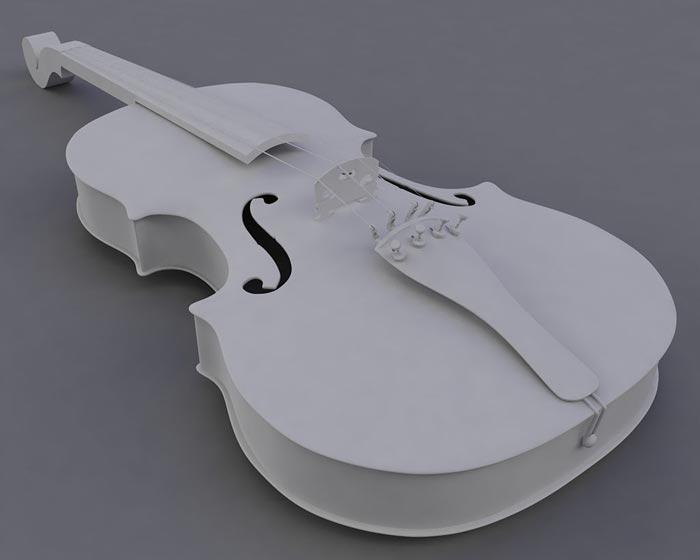 6. Скрипка Для печати на 3D-принтере скрипки американец Алекс Дэвис использовал пластик, картон и ст