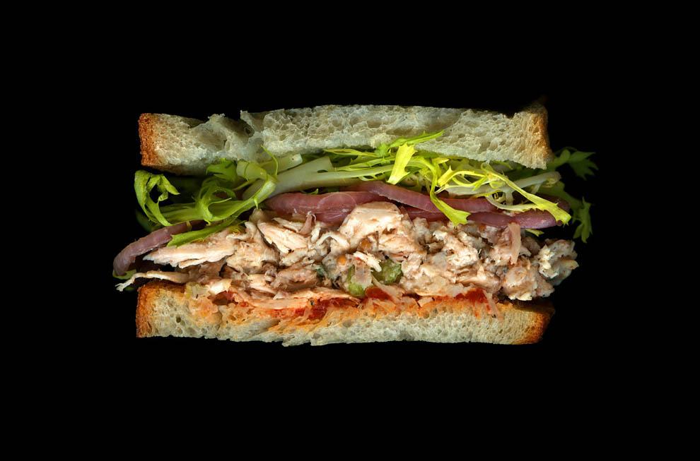Бутерброды в сканере