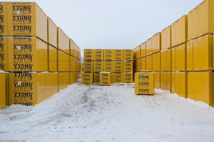 Фотографии и текст Александра «Russos» Попова   Газобетон — разновидность ячеистого бетона;