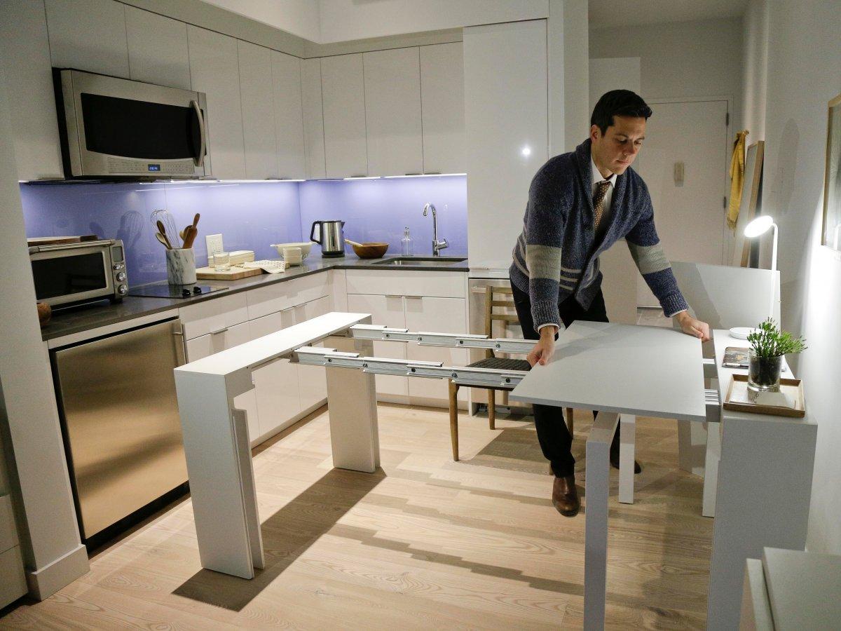 В то же время в 2015 году в Нью-Йорке появился первый жилой комплекс с микроквартирами площадью 27 к