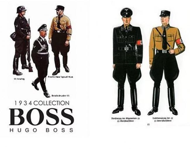 Hugo Boss — дизайнер нацистской униформы.