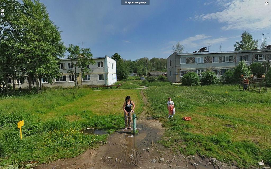 Деревня Калужка.