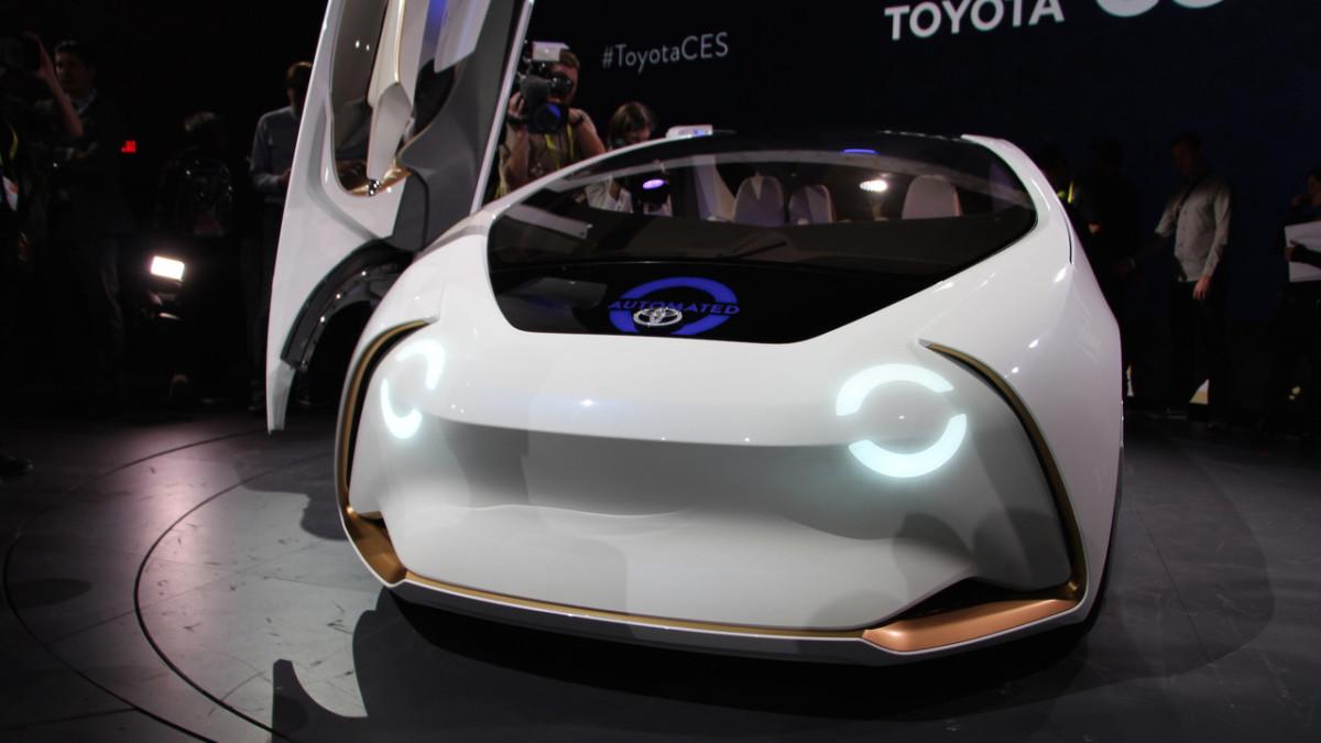Тойота представила автомобиль будущего сискусственным интеллектом