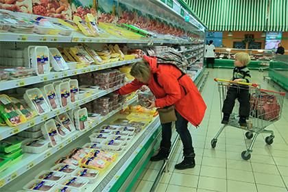 В РФ продовольственная инфляция превысила европейскую в3,5 раза