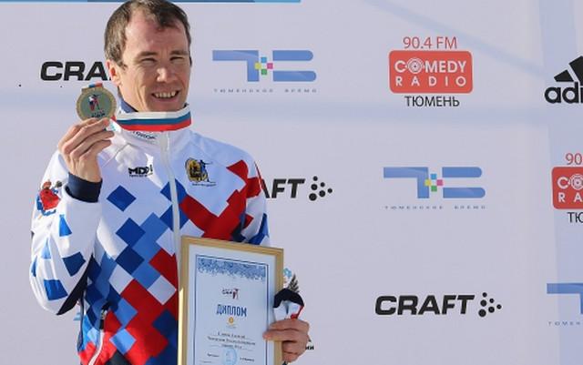 Алексей Слепов одержал победу персональную гонку