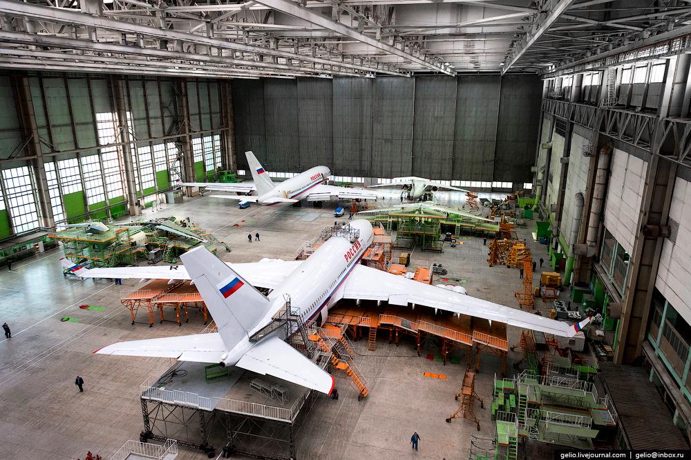 Производство самолётов Ил-96-300 и Ан-148. ВАСО