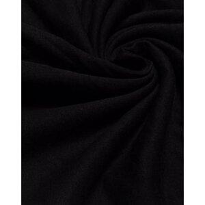 Футер 2-х нитка с начесом пачка черный, Состав: 100% - х/б, Ширина: 90*2 (чулок), Плотность: 180-200 гр/м2, Цена 380рублей