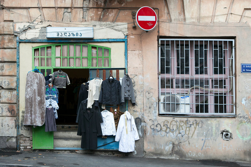 old vintage clothing for sale near the commissary