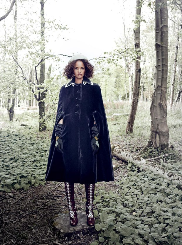 Model of the Year: Malaika Firth Stuns for Harper's Bazaar UK