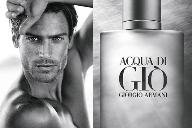 Jason Morgan for Giorgio Armani Acqua di Gio 2015