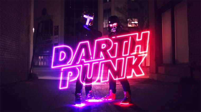 The Funk Awakens - Quand les Daft Punk rencontrent l'univers de Star Wars