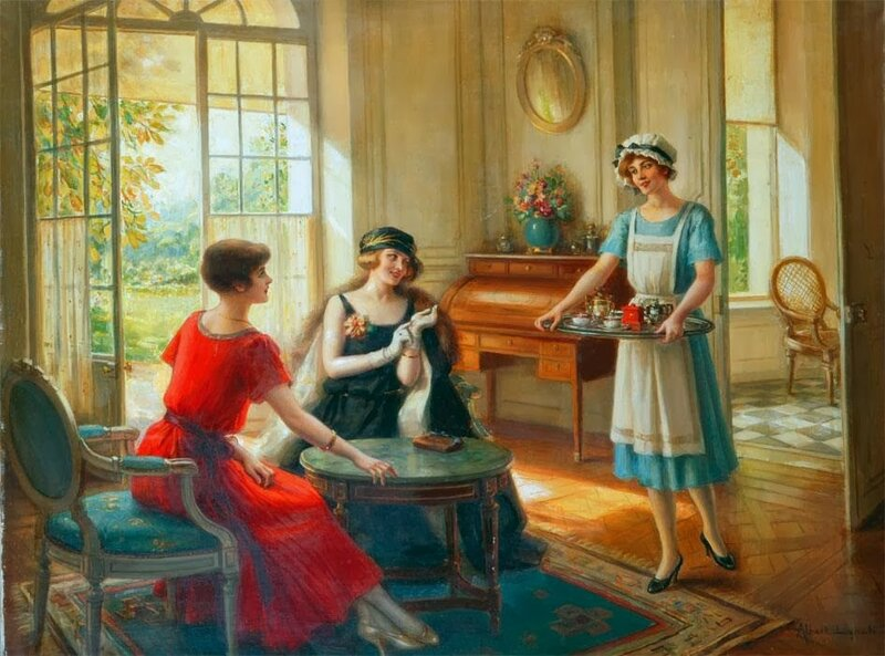 4 Albert Lynch (Peruvian artist, 1851-1912) The Servant.jpg