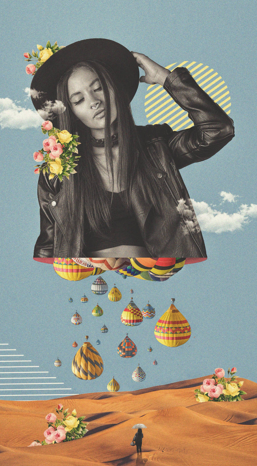 Art of Collage by Abdo Assan