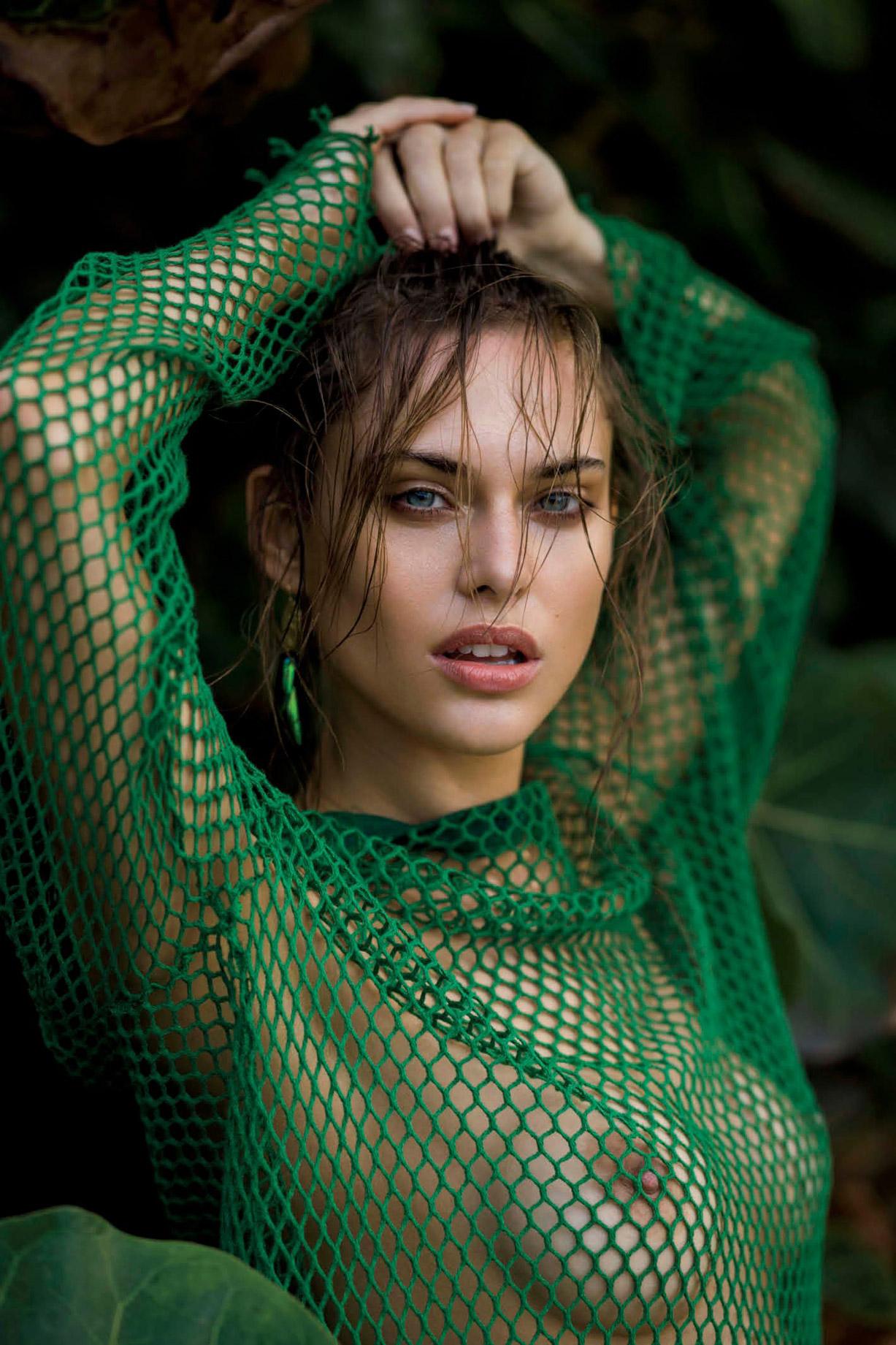 Лана Закосела / Lana Zakocela by Gilles Bensimon - Maxim US may 2017