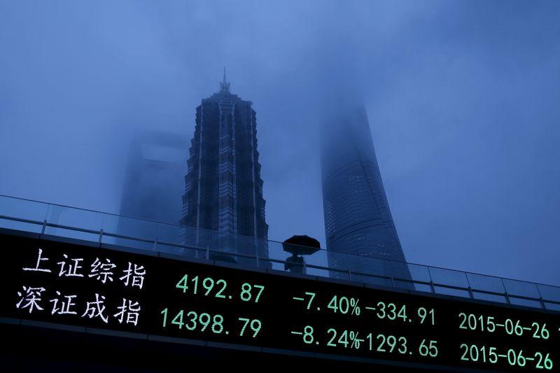 MOBILISATION EN CHINE POUR SOUTENIR LA BOURSE