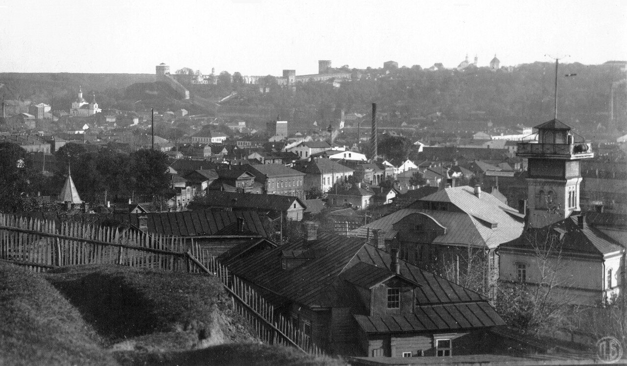Вид на город с Покровской горы