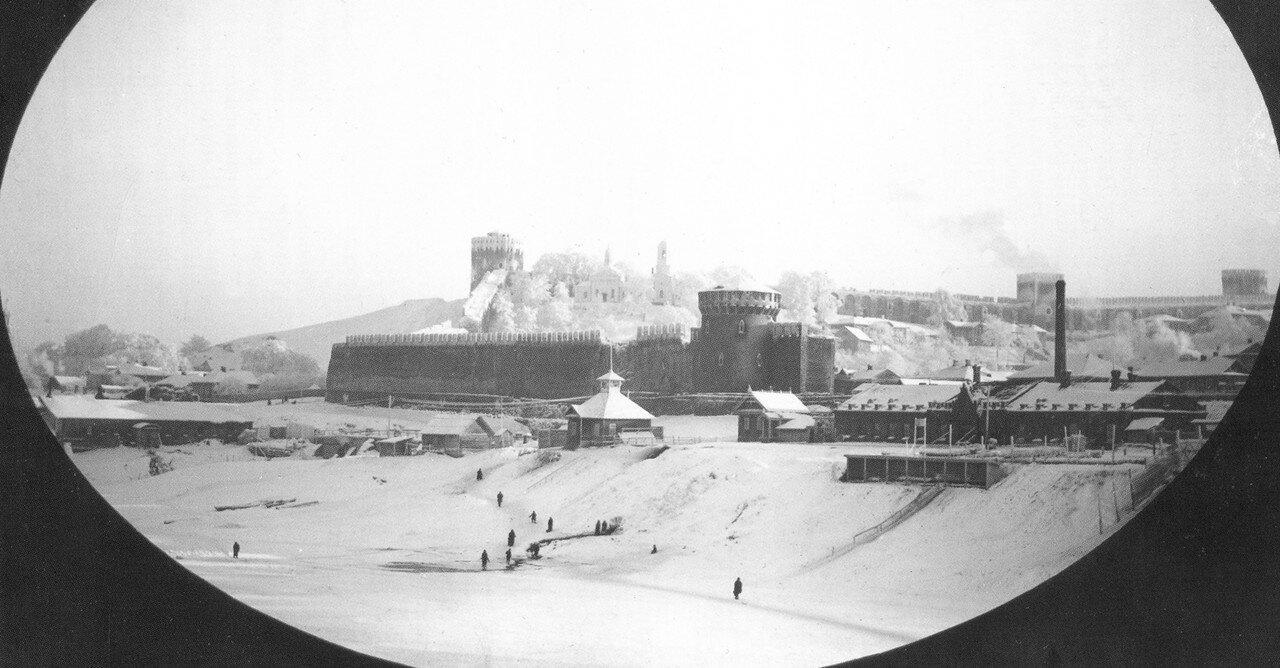 Северо-восточная часть крепостной стены. 1890-е