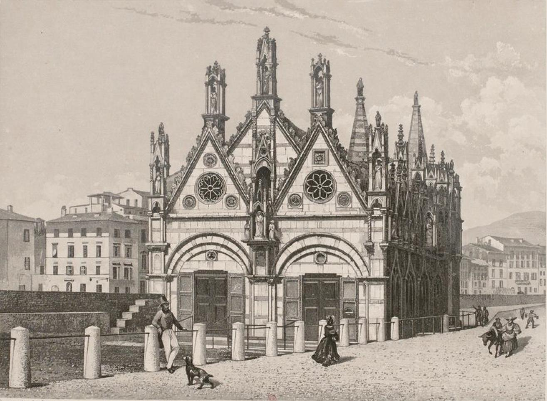 Италия. Пиза. Церковь Санта Мария делла Спина