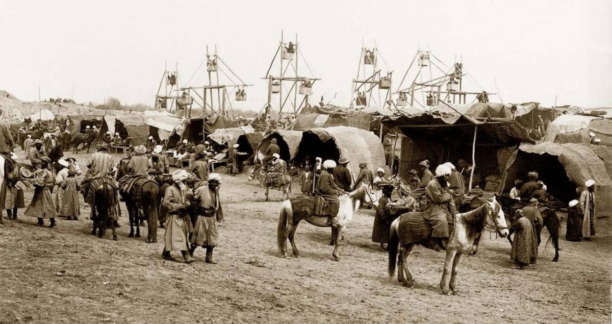 Саиль (Новый Год). Народное гуляние в урочище Афросиаб