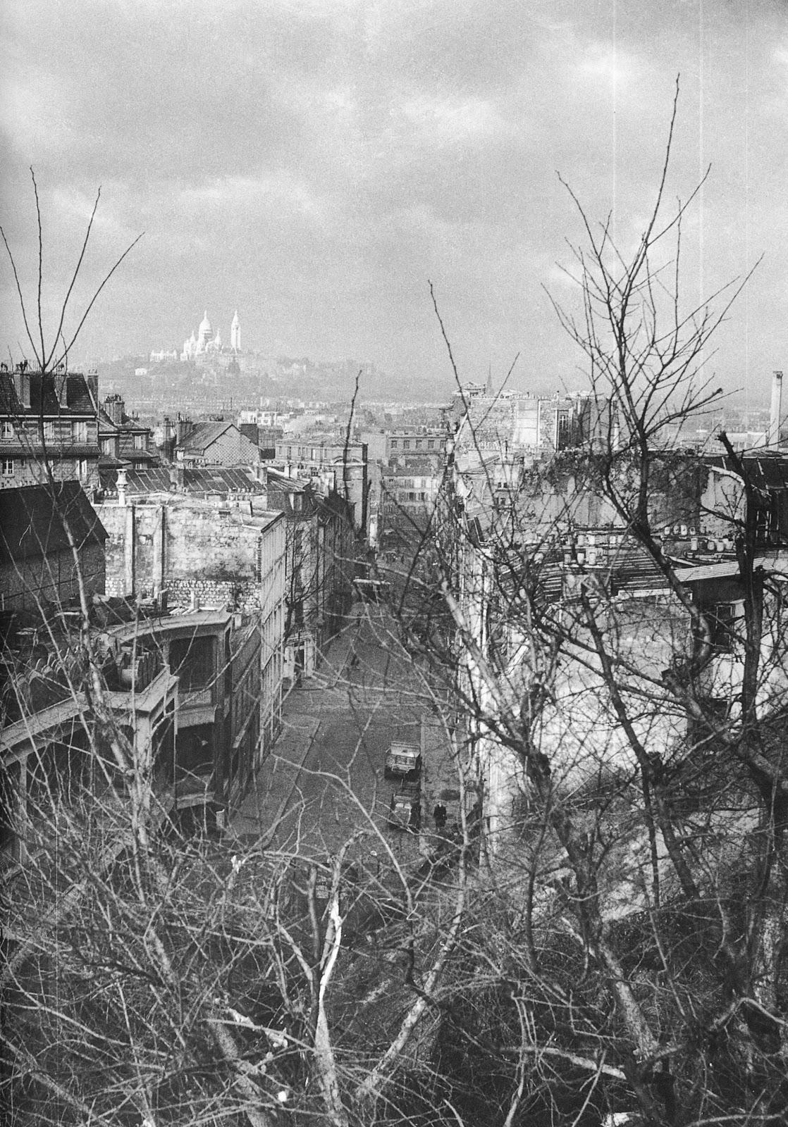 1948. Монмартр от рю Жорж Ларденуа