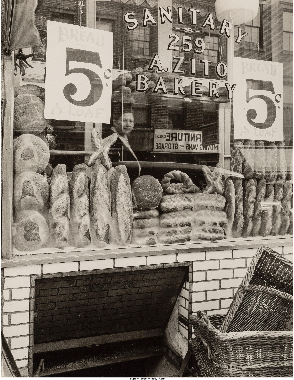 1937. Хлебный магазин на Бликер-стрит, 259. 3 февраля