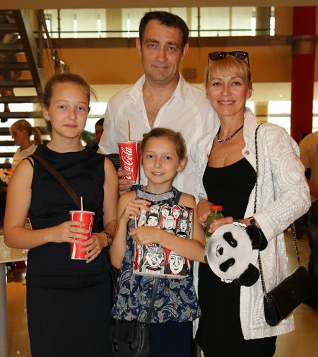 сергей юшкевич жена фото