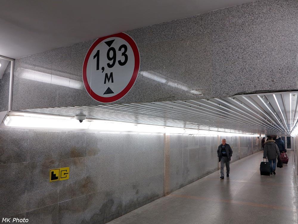 Подземный переход на станции Тюмень