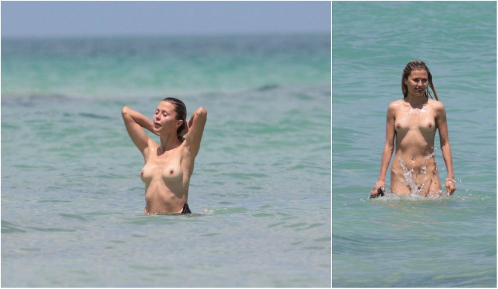 Виктория Боня разделась в Майами