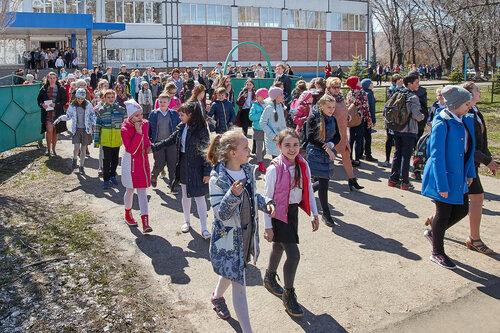 Плановая учебная эвакуация в гимназии