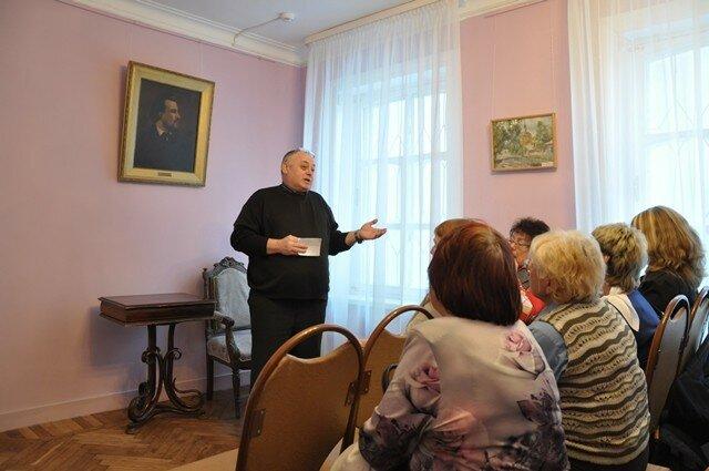 Выступление А.И. Костякова, начальника отдела музея театра
