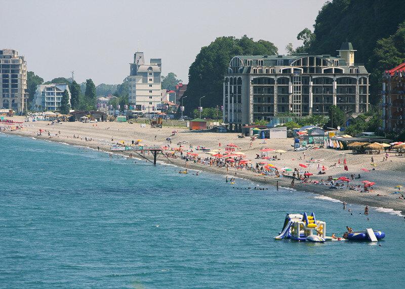 Фотографии пляжных курортов Грузии