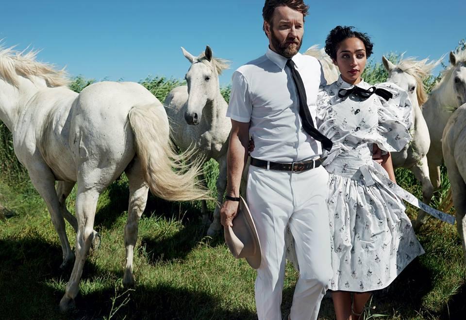 Рут Негга и Джоэл Эдгертон в Vogue (10 фото)