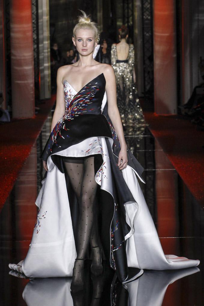 Неделя высокой моды в Париже: Zuhair Murad весна 2017