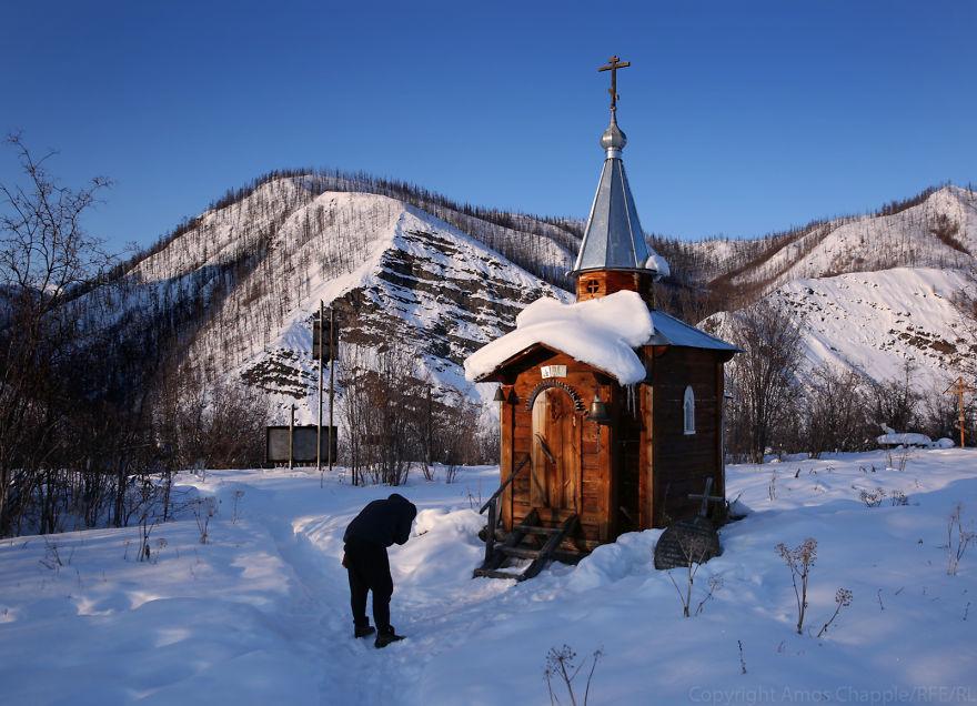 Церквушка в Зашиверске.