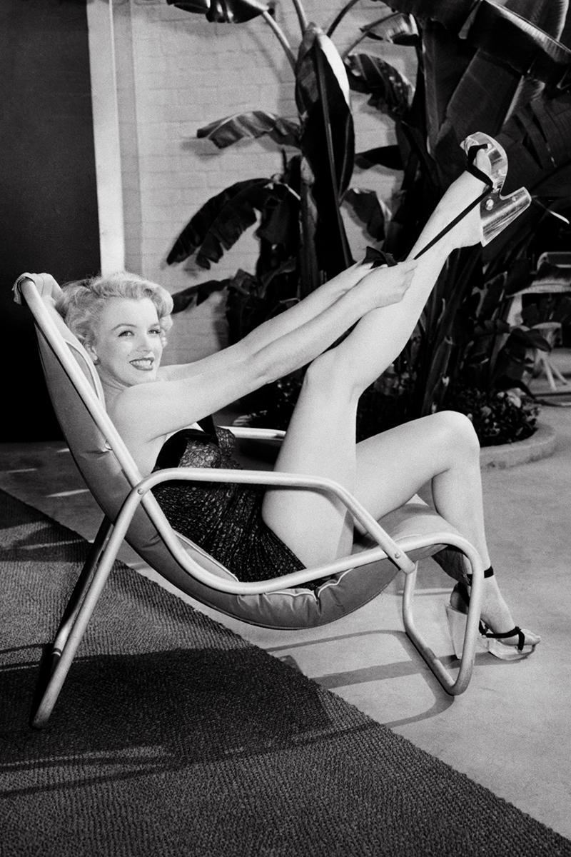 Мэрилин Монро, Лос-Анджелес, 1949.