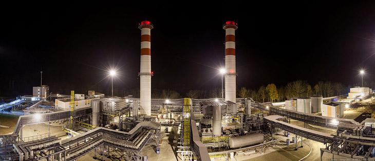 Джубгинская ТЭС первая в России станция, с расположением энергоблоков прямо на улице. Отказ от