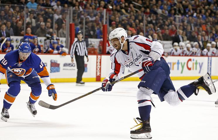 Гол Овечкина неспас «Вашингтон» отпроигрыша вматче НХЛ с«Айлендерс»