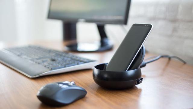 Док-станция Самсунг DeX увеличивает работоспособность корпоративных пользователей