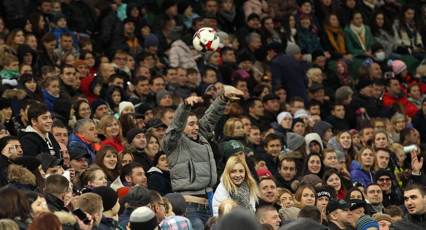«Оренбург» обыграл «Краснодар» вматче чемпионата Российской Федерации