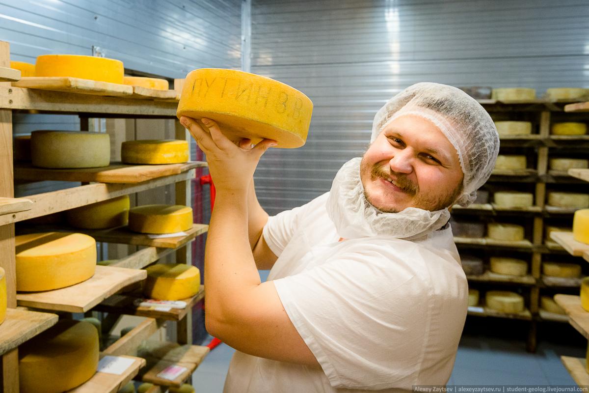 Сыр для президента Путина