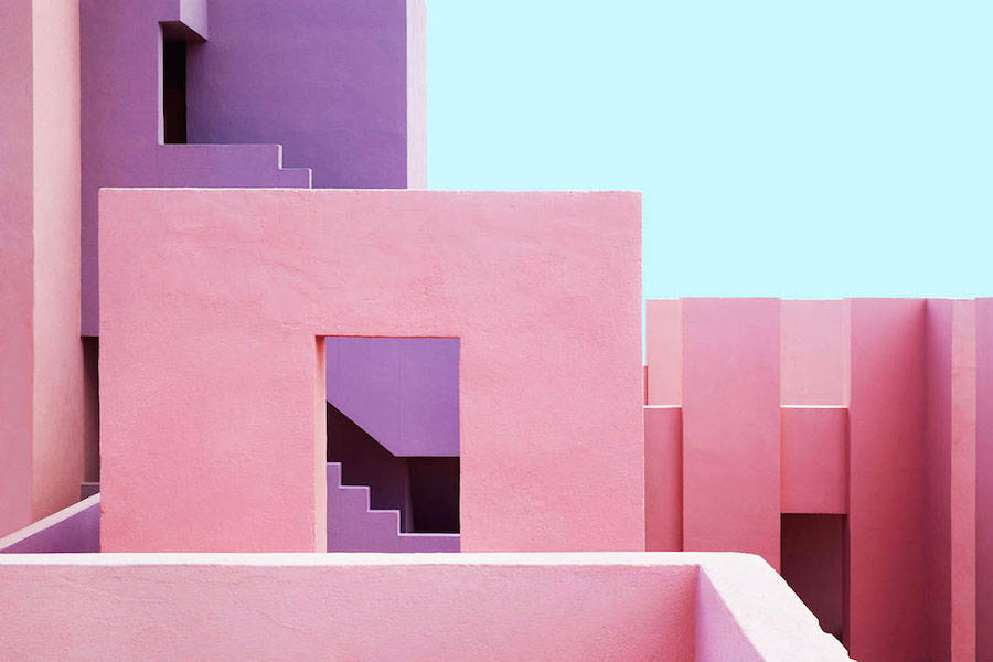 Multicolored Architectural Photography in Spain (16 pics)