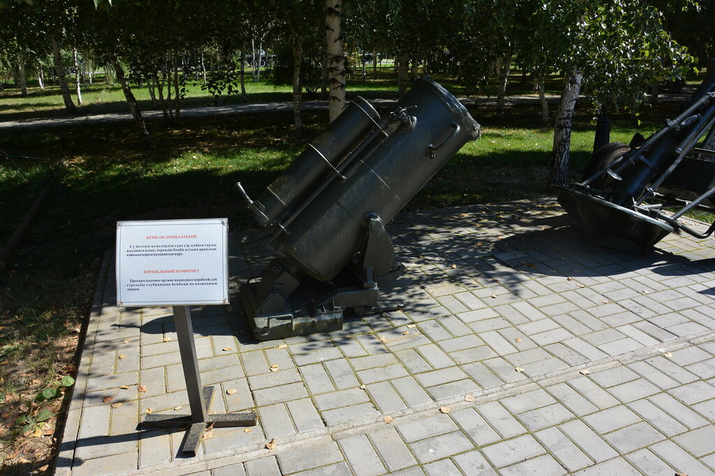 корабельный бомбомет