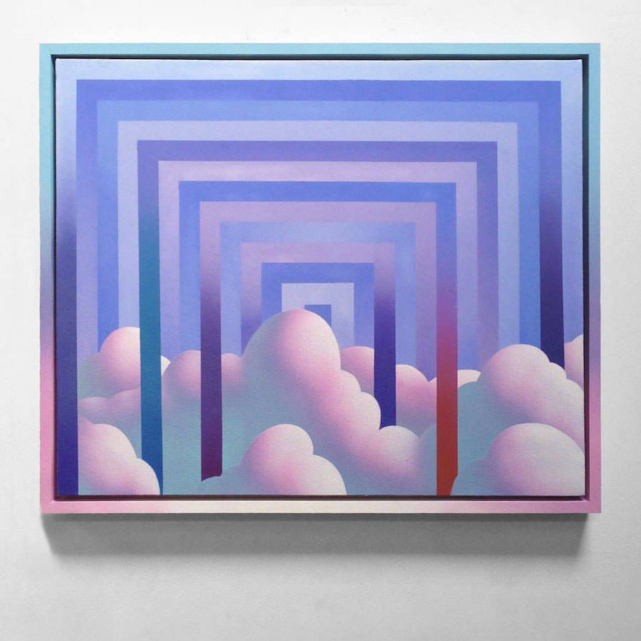 Colorful Summer Paintings by Maxwell McMaster