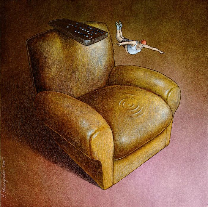 As ilustracoes criticas de Pawel Kuczynski