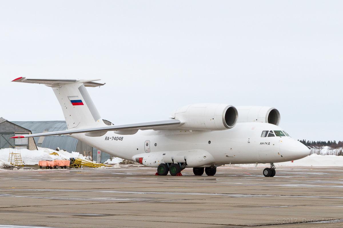 самолёт Ан-74Д VIP RA-74048 Уктус