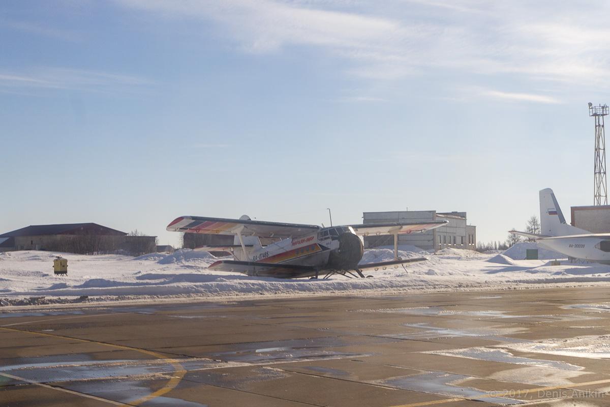 самолёт Ан-2ТП RA-07485 Нарьян-Марский объединённый авиаотряд