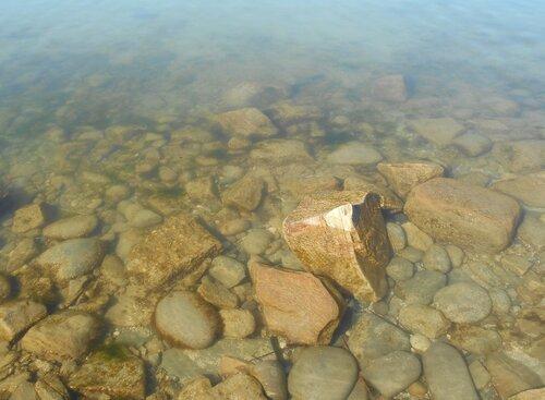 Прозрачность мартовской спокойной воды Азовского моря ... DSCN1264.JPG